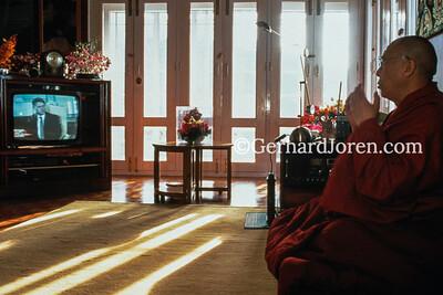 Dalai Lama, spiritual leader,  McLeod Ganj, India