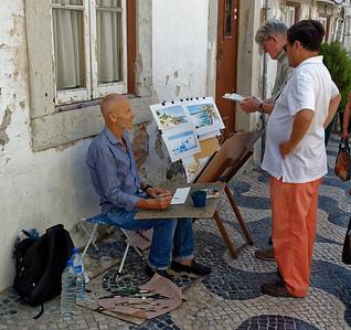 Artiste Peintre de rue - Cascaïs - Portugal