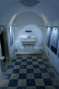Crypte de la chapelle.