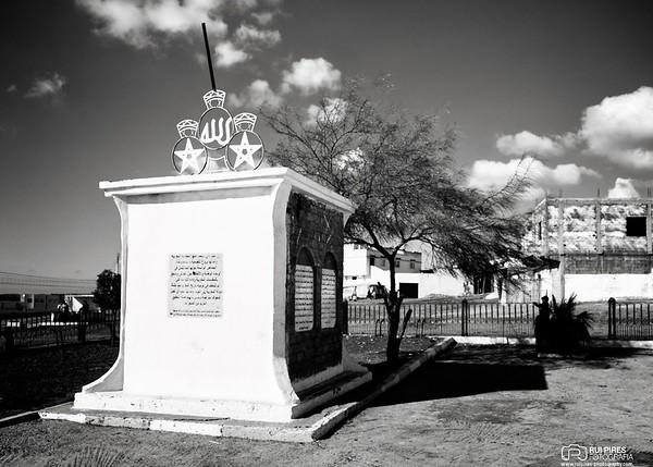 Monumento à batalha de Alcácer de Quibir, ou Batalha do Rio Kokhazen, ou Batalha dos três Reis
