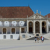 The 700 year-old Coimbra University between Lisbon and Porto.