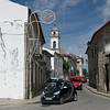 Along the streets of the old town of Favaios, Portugal.