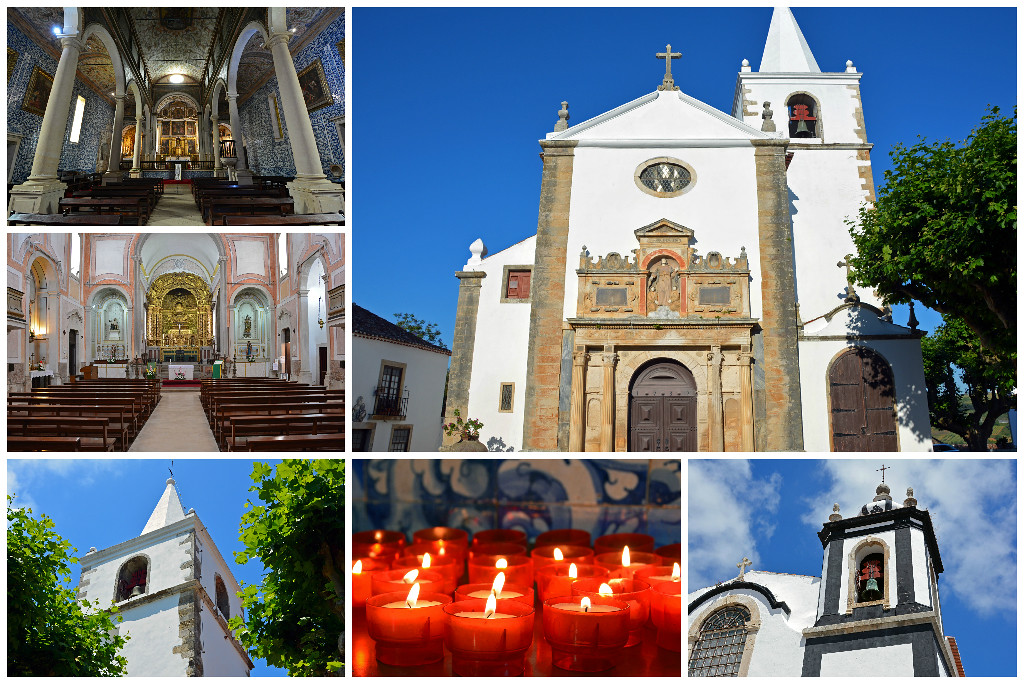 Churches in Obidos