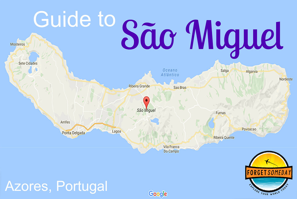 Sao Miguel Map