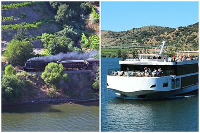 Transportation through the Douro River Valley