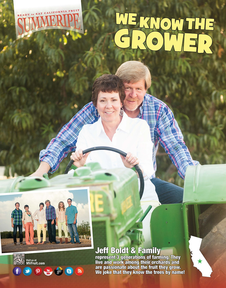 We Know The Grower Posters Bolt Family