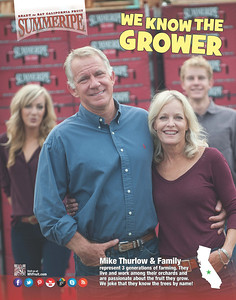 We Know The Grower Posters, Thurlow Family
