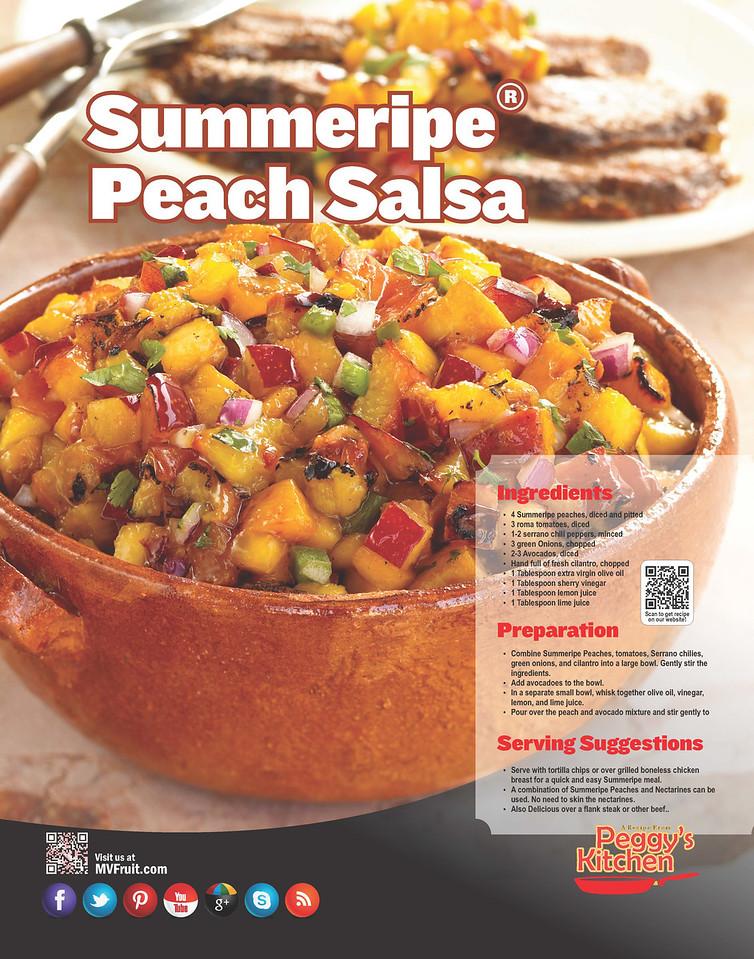 Summeripe Peach Salsa