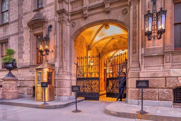 The Dakota - Entrance - night