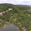 FLYING OVER THE BRAZOS RIVER
