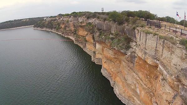 POSSUM KINGDOM LAKE CLIF FLY BY