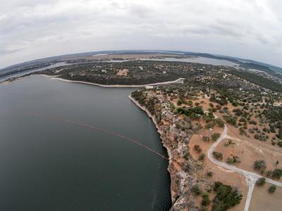 POSSUM KINGDOM LAKE AREAL