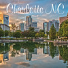 charlotte north carolina postcard