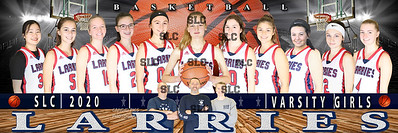 ORDER THIS ONE 12x36 VARSITY GIRLS 2020  X