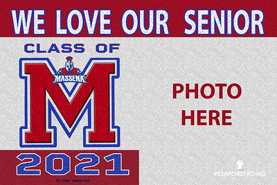 2--1-MASSENA  AVAILABLE IN BANNERS YARD SIGN S