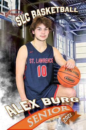 Alexander Burg Half Court Basketball