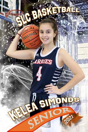 Kelea Simonds Half Court Basketball
