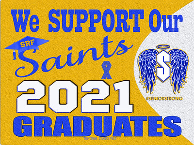 9-1 ST REG FALL SUPPORT SENIORS  AVAILABLE IN BANNERS YARD SIGN WINDOW CLING