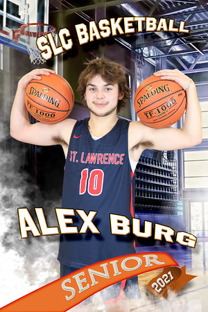 Alex Burg Half Court Basketball