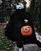 "11-2-2009:  ""The Headless Horseman Rides Again""  This is a friend of ours trick or treating on Halloween night.  It was a great costume!!"