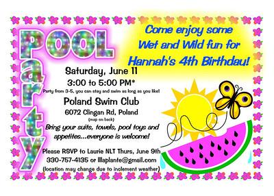 Hannah Birthday - 2011