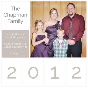 2012 Family Yearbook