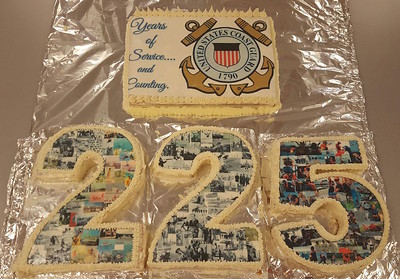 Coast Guard 225th Birthday Cake