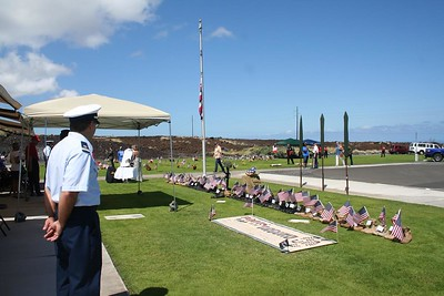West Hawaii Veterans Cemetery Memorial Day Observance