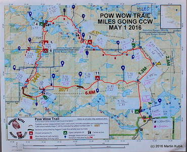 POW WOW TRAIL MAPS