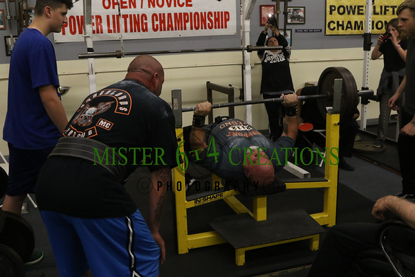 Powerlifting  Preliminary Competition - April 8, 2017