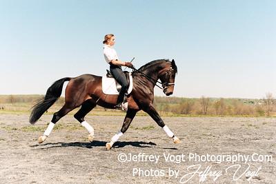 Horse Riding Portrait