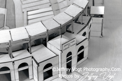 Wooden O's Stadium Model, Product Photography