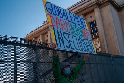 Voltuan Rassemblement du Trocadéro, à Paris, le 21 novembre 2020 / Stop à la PPL Sécurité globale