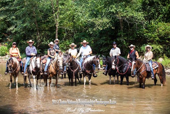 2015 Clinton Arkansas National Championship Chuckwagon Races Images