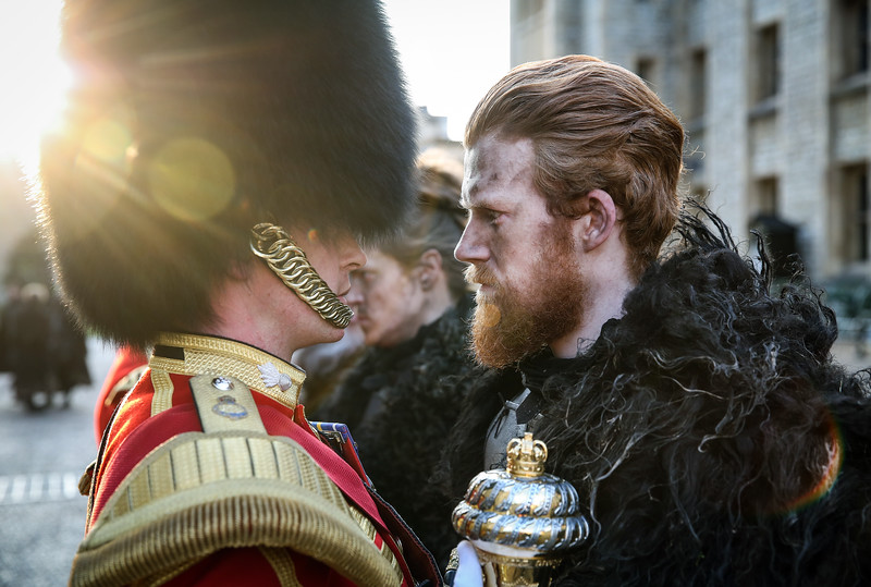 Game of Thrones with the Coldstream Guards