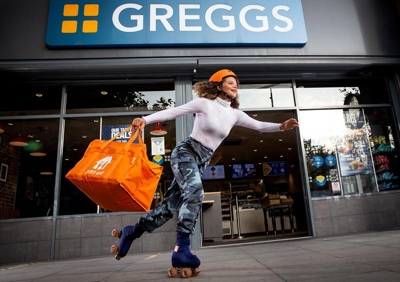 Greggs on Just Eat
