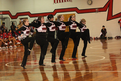 The Lutheran West Lariettes Dance Team