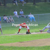 Monday, June 27, 2011. Plattsburgh Babe Ruth game Monday at Lefty Wilson Field. City Fire vs. Plattsburgh Elks. City Fire won, 10-4.<br><br>(Staff Photo/Kelli Catana)