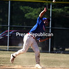 Sunday, July 24, 2011. Plattsburgh Cardinals vs. Meron's Expos in Plattsburgh.   The Expos won 7-4.<br><br>(P-R Photo/Gabe Dickens)