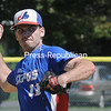 Monday, August 25, 2014. Meron Expos play Plattsburgh Cardinals Sunday during the CVBL Championship series at Lefty Wilson Field in Plattsburgh. <br /><br />(P-R Photo/Rob Fountain)