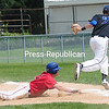 Monday, August 11, 2014. Fourth Ward Timberjaxx play Fourth Ward Cardinals in CVBL Semifinals at Lefty Wilson Field Sunday in Plattsburgh.  <br /><br />(P-R Photo/Rob Fountain)