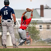 Sunday, July 17, 2011. Plattsburgh Cardinals vs. Lyon Mountain Miners in Plattsburgh.  Plattsburgh won 5-4 and 7-4.<br><br>(P-R Photo/Gabe Dickens)