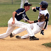 Sunday, July 17, 2011. Clinton County Junior Mariners vs. Saratoga Junior Stampede in Plattsburgh.    The Mariners won 5-3 and 7-4.<br><br>(P-R Photo/Gabe Dickens)