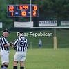 Saturday, July 26, 2008. Plattsburgh North Stars vs. Massena Silver and Black at Penfield Park in Plattsburgh.  Plattsburgh won 56-7.<br><br>(P-R Photo/Kelli Catana)