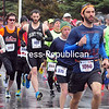 Monday, April 28, 2014. Competitors participate in the 5th Annual Plattsburgh Half Marathon on Sunday at the US Oval. <br /><br />(P-R Photo/Rob Fountain)