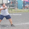 Sunday, July 20, 2008. 10th Annual Topnick Slo-pitch Softball Tournament in West Plattsburgh.  All funds from entry fees and concessions go to breast cancer research.<br><br>(P-R Photo/Kelli Catana)
