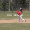 Monday, April 29, 2013. The Plattsburgh Cardinals swept an 11-10 and 5-4 double-header from Castleton State in non-conference play. <br /><br />(Staff Photo/Kelli Catana)