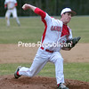 Tuesday, April 29, 2014. Plattsburgh plays Norwich in mens baseball Monday at Chip Cummings Field in Plattsburgh.  <br /><br />(P-R Photo/Rob Fountain)