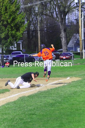 Tuesday, April 20, 2010. Clinton Community College vs. Herkimer Community College in Plattsburgh.  Herkimer won both games 15-2 and 6-0.<br><br>(Staff Photo/Kelli Catana)