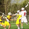 Tuesday, April 20, 2010. Plattsburgh State vs. Williams College in Plattsburgh.  PSUC won 17-15.<br><br>(P-R Photo/Andrew Wyatt)